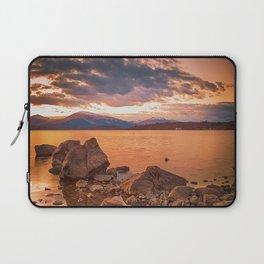 Liquid Gold Loch Lomond Laptop Sleeve
