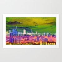 New York City   Project L0̷SS   Art Print