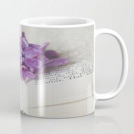 Lilac Bookmark II Coffee Mug
