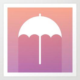 The Umbrella Art Print