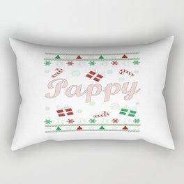 Pappy Christmas Rectangular Pillow