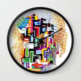 Cityface Wall Clock