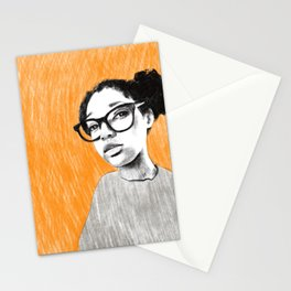 Nice new glasses Stationery Cards