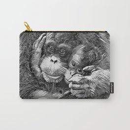 AnimalArtBW_OrangUtan_20170603_by_JAMColors-Special Carry-All Pouch
