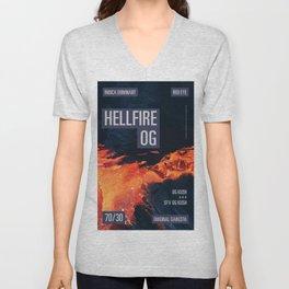 HELLFIRE OG Unisex V-Neck