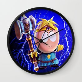 Thor Butters Wall Clock