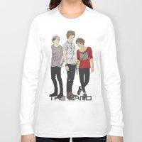 """band Long Sleeve T-shirts featuring """" THE Band """" by Karu Kara"""