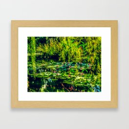 Giverny Water Lilies Framed Art Print