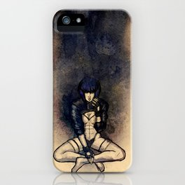 Kusanagi In the Shell iPhone Case