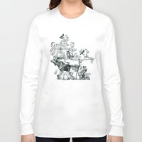 history Long Sleeve T-shirts featuring Natural History by Jonathan P