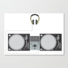 Turntablist Essential Canvas Print