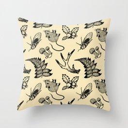 Forest Lurker Pattern Throw Pillow