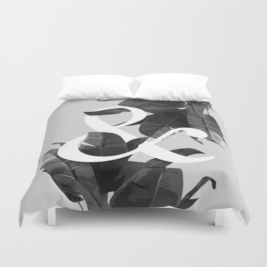 Botanical Ampersand Duvet Cover