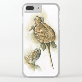 Otis the Snapper Clear iPhone Case