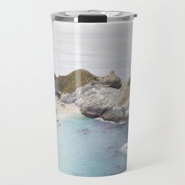 McWay Falls in Big Sur Travel Mug