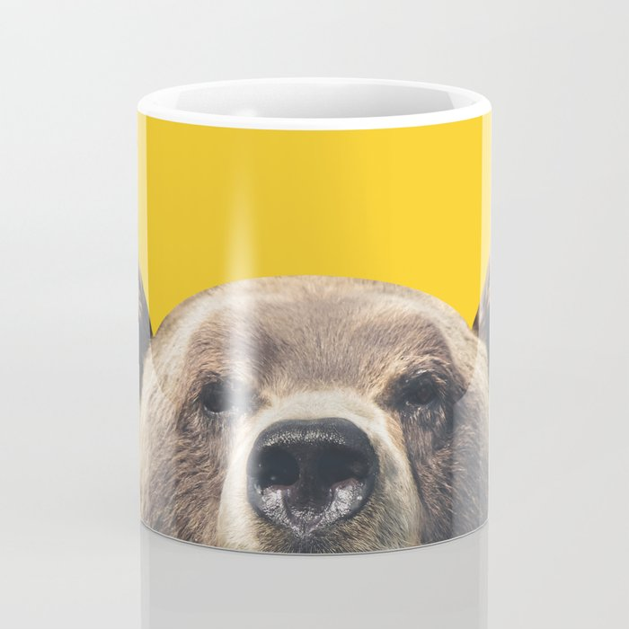 Bear - Yellow Coffee Mug