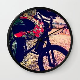 Unknown Racer Wall Clock