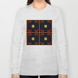 Koi Ying and Yang - Symmetrical Art2 Long Sleeve T-shirt