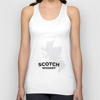 whiskey Tank Tops featuring Scotch Whiskey by Stephen John Bryde