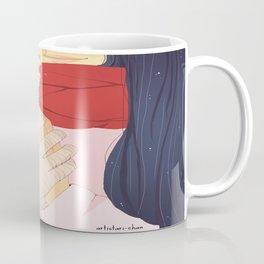 Red scarf Coffee Mug