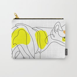 Cat from behind - Singapura Carry-All Pouch