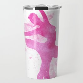Ballerina watercolor Travel Mug