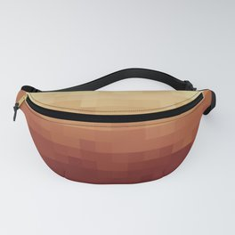 Gradient Pixel Red Fanny Pack