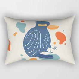 Quirky Laughing Kookaburra Rectangular Pillow