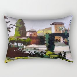 Sunny in Granada Rectangular Pillow