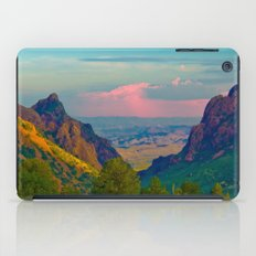 Chisos Mountain Park Big Bend Texas iPad Case