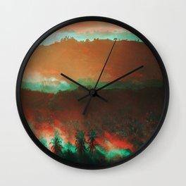 Lombok mornings Wall Clock