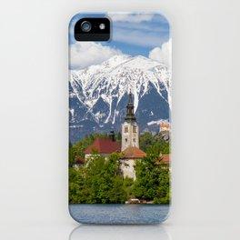 Bled Landscape iPhone Case