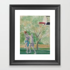 Game is On Framed Art Print