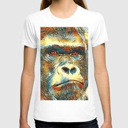 AnimalArt_Gorilla_20170602_by_JAMColorsSpecial T-shirt