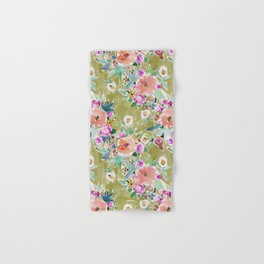 K.I.S.S. Colorful Floral Hand & Bath Towel