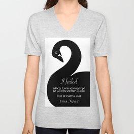 I'm a Swan Unisex V-Neck