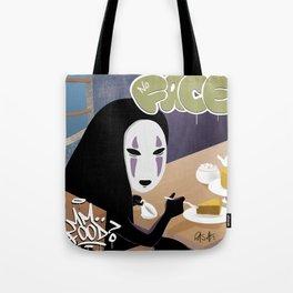 No Face Mm.. Food (MF Doom + Spirited Away) Tote Bag