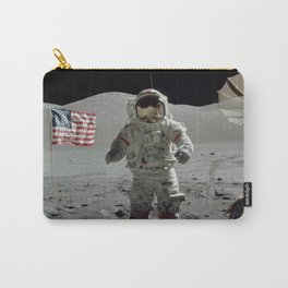 Apollo 17 - Last Man On The Moon Carry-All Pouch
