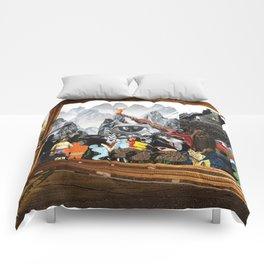Battle of dreams. Comforters