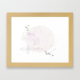 Migrating Birds Framed Art Print