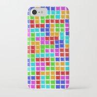 tetris iPhone & iPod Cases featuring Tetris by MarioGuti