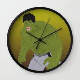 Hulk (Vector Art) Wall Clock