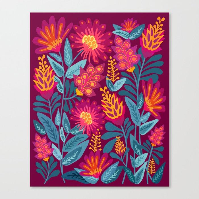Fiesta Garden Canvas Print