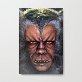The Werewolf Curse Metal Print
