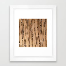 Inside White Pine Framed Art Print