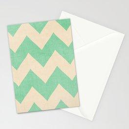 Malibu - Chevron Stationery Cards