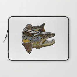Killer Brown trout Laptop Sleeve