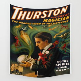 Thurston The Great Magician - Spirits Wall Tapestry