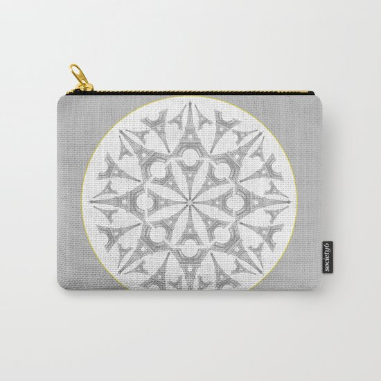 Paris in a Kaleidoscope Carry-All Pouch