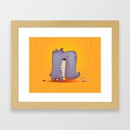 Little lover Framed Art Print